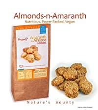 Grainny's Organic Whole-Grain Vegan Amaranth & Almond Cookies (360 gms.)