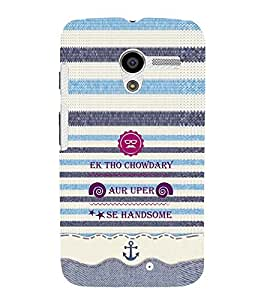 EPICCASE cool chowdary Mobile Back Case Cover For Moto X (Designer Case)