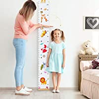 STOBOK Baby Growth Chart,Height Measurement Ruler for Kids Handing Canvas Wall Ruler Chart Decor for Nursery,Child,Boy,Girl 200cm x 20cm