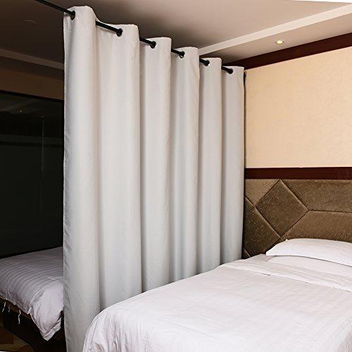 ponydance Tenda divisorio, Poliestere Tessuto, White, 8ft Tall x 10ft Wide - Camo Tenda Oscurante