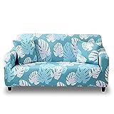 HOTNIU 1 Stück Stretch Sofa Couch Bezüge - Spandex Printed Loveseat Couch Schonbezug - Sessel Sesselbezug/Protector One Free Kissenbezug (4 Sitzer 225-290cm, Gemustert #23)