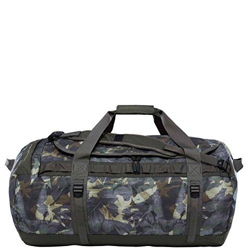 (The North Face Reisetasche L Base Camp Duffel L english green tropical camo)