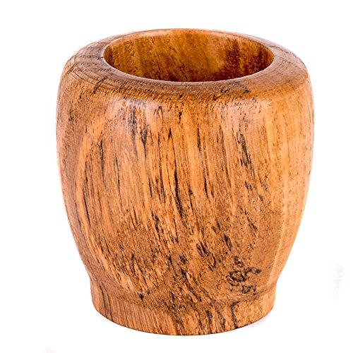 Holzwaren Mischen Schleifen Mörser mit Stößel für Knoblauch Ingwer - 6