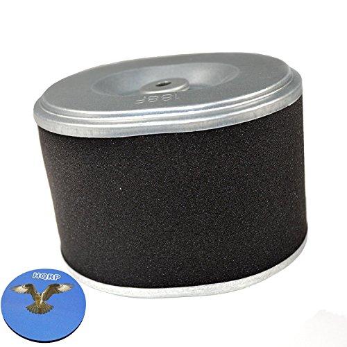 HQRP Cartouche de filtre à air plat double pour Lesco 014945 / Stens 100-818 / Oregon 30-406 / Honda 17210-ZE2-505 / J.Thomas AF-692 Remplacement + HQRP Sous-verre