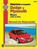 Modelos Dodge y Plymouth Neon Haynes Manual de Reparacion Por 2000 Al 2005: No Incluye Informacion Especifica Para Los Modelos Srt-4 (Hayne's Automotive Repair Manual)