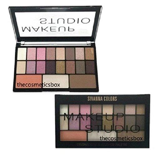 SIVANNA Colors Makeup Studio Eyeshadow & Blusher Palette(Multi Shades)