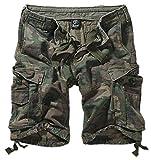 Brandit - Vintage Shorts - Pantalón corto - cargo - para hombre - Woodland - M