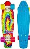 """Penny Skateboard, 22"""" Komplett cruiser 56 cm bunt - Woodstock"""