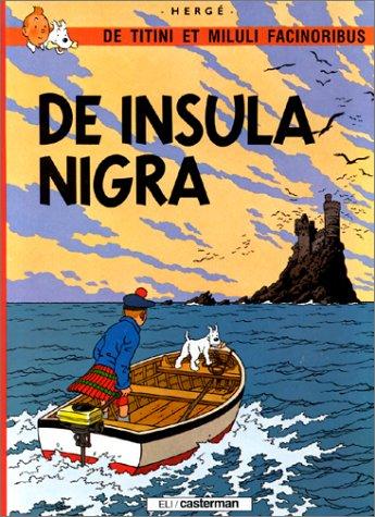 De Titini et Miluli facinoribus, Tome 1 : De insula nigra par Hergé