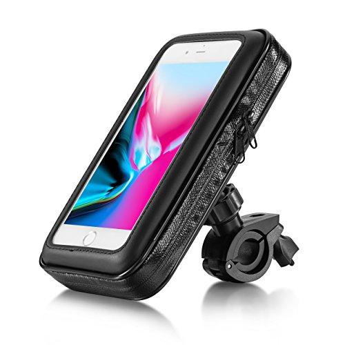 """Eximtrade Universal Wasserdicht Fahrrad Handy Halterung Beutel Tasche für Smartphones und GPS (Für Smartphones 5,5\"""")"""