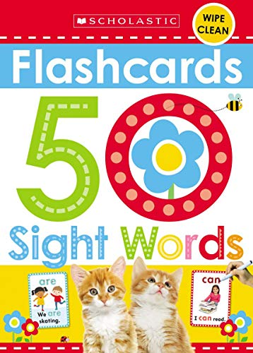 Flashcards - 50 Sight Words (Scholastic Early Learners) (Scholastic Early Learners (Cartwheel - US))