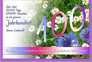 100 Geburtstag