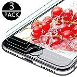 9HDClear [3 Stück Panzerglas Schutzfolie für iPhone 6/iPhone7/iPhone8 9H Härte 3D Touch Kompatibel Anti-Bläschen Screen Protector (4.7 Zoll)