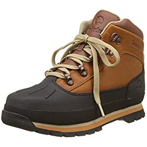 Timberland Kids Euro Hiker Shell Toe Chukka Boots, Braun (Claypot), 39 EU