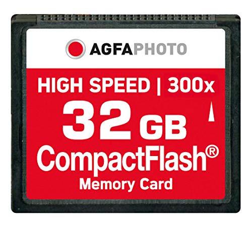 AgfaPhoto 120x High Speed MLC Compact Flash (CF) 32 GB Speicherkarte - High Speed 2 Gb Sd-karte