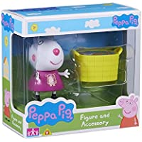 Peppa Pig Figura e accessori Suzie Sheep & Basket Set - Aula Garden Set