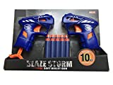 #6: Toyzrin Foam Blaster Gun Toy with 10 Bullets ,Multi Color 7110…