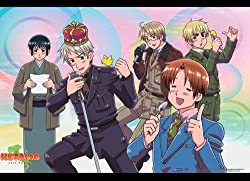 Great Eastern Entertainment Hetalia Musical Group Wall Scroll, 33 by 44-Inch