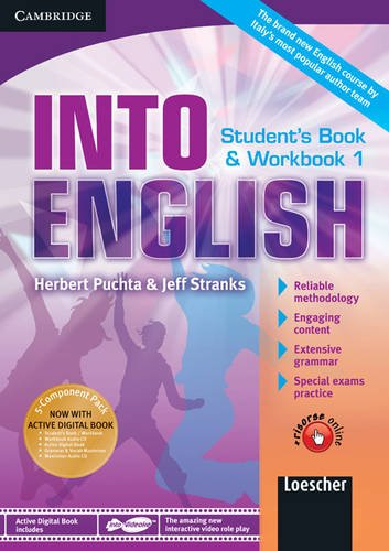 Into english. Student's book-Workbook-Maximiser. Per le Scuole superiori. Con CD Audio. Con DVD-ROM. Con espansione online: 1