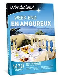 WONDERBOX - Coffret cadeau - WEEK-END EN AMOUREUX