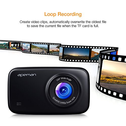 【upgrade Super Nachtsicht】 Dash Cam Foto & Camcorder Higoing Auto Kamera Mit Imx323 Sensor