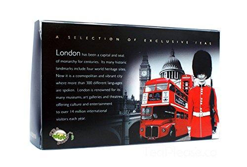 """Ahmad """"London Memories Tee Geschenk Set – Eine Sammlung von drei Englischer Tee verpackt in attraktiven Metall-Dosen"""