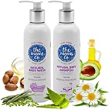 The Moms Co All Natural Tear-Free Cleaning Bundle for Baby (Tear-Free Natural Baby Wash, 200ml and Baby Shampoo, 200ml)