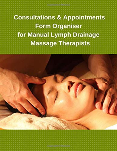 Consultations & Appointments Form Organiser for Manual Lymph Drainage Massage Therapists - Lymph-massage