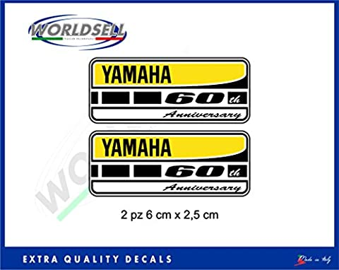Kit Stickers 60ème anniversaire YEC YAMAHA R1 R6 FZ1 FZ6 FZ8 TMAX MT XJ XT
