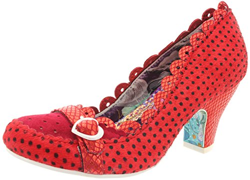 Irregular choice, sHER bERT 4255-4 escarpins femme Rouge - Rouge