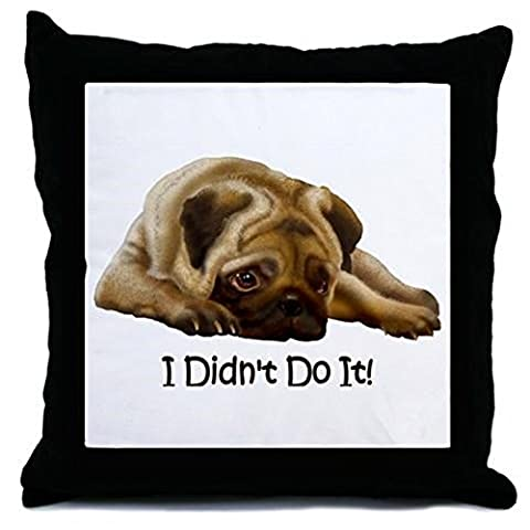 cafepress – I Didn't Do It. – Couvre-lit, Taie d'oreiller Accent Décoratif Taie d'oreiller, Cover Only