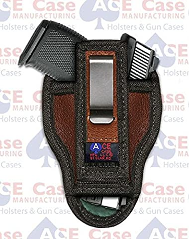 IWB - INSIDE PANTS / BELT CONCEALMENT HOLSTER - GLOCK 17 19 23 **100% USA MADE** by Ace Case
