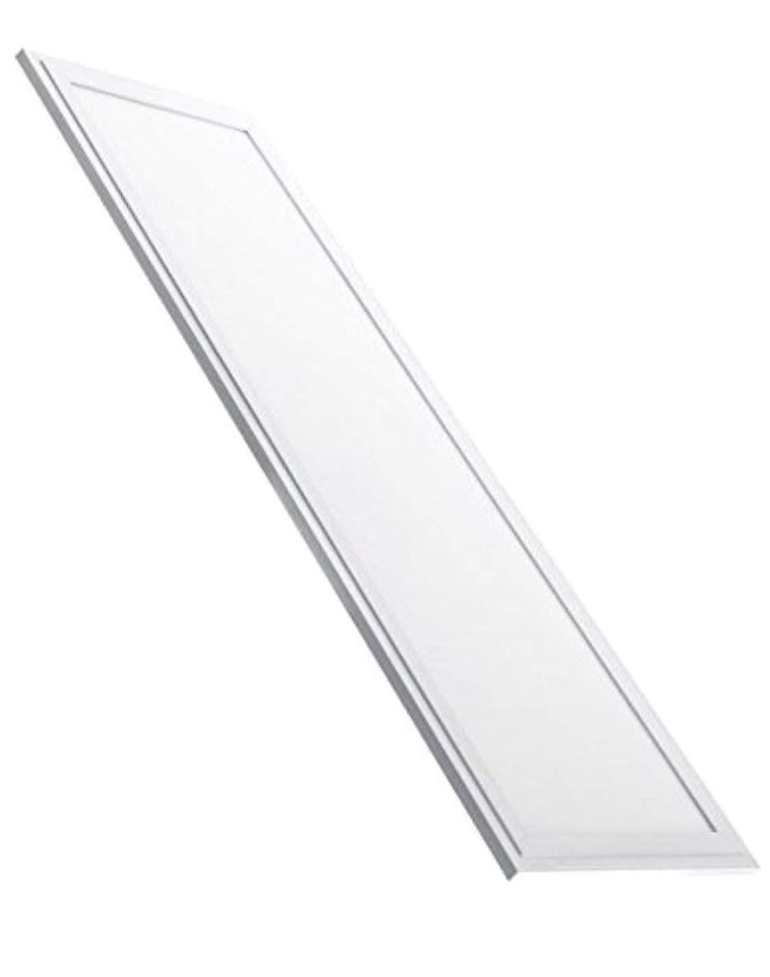 (LA) Panel LED slim 120x 30cm, 48W, colore: Bianco freddo (K,), 4100lumen reali. vendita dalla Spagna