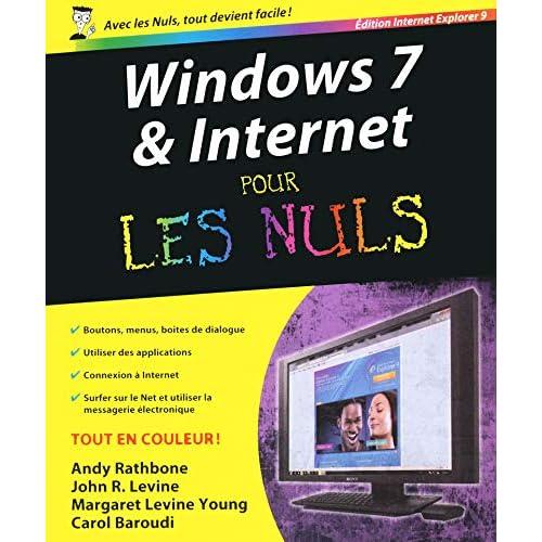 Windows 7 et internet Ed Explorer 9 Pour les nuls