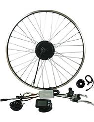 """Prystel 29PTC - Kit para bicicleta eléctrica de 29"""" (rueda trasera, 36V/250W) color negro"""