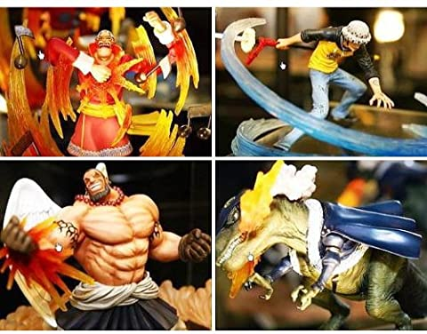 One Piece - Super Effect Figure Vol. 1 (Set of 4) (Pre-Painted Figure)