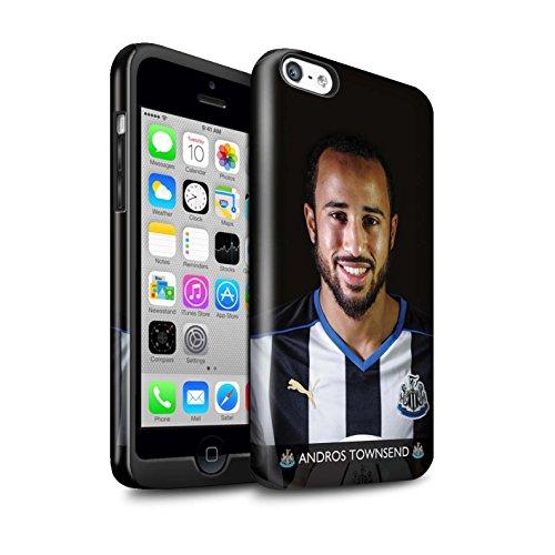 Offiziell Newcastle United FC Hülle / Glanz Harten Stoßfest Case für Apple iPhone 5C / Pack 25pcs Muster / NUFC Fussballspieler 15/16 Kollektion Townsend