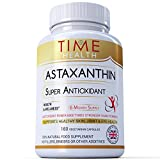 Astaxanthin - Super Antioxidant - 100% Pure Natural Bioavailable 4 & 6 Month Supply - UK Manufactured to ISO 9001 quality assurance (180 Capsule Bottle)