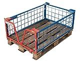 Sommer International GmbH 3er Set Gitter-Aufsatzrahmen 120x80x40 (für Paletten)