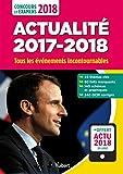 Lire le livre Actualité 2017-2018 Concours examens gratuit