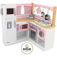 Kidkraft 53185 - Cocina Grand Gourmet para esquina