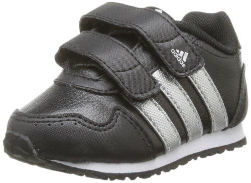 adidas Snice 2 Cf I, Baskets mode mixte bébé Noir (Black/Metallic Silver/White)