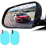 CamPark 2 Pcs Car Rearview Mirror Film Car Side Mirror Protect Film HD Anti-Water Anti-Mist Film Anti-Fog, Waterproof Rear vi