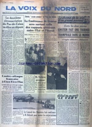 VOIX DU NORD (LA) [No 3045] du 25/04/1954