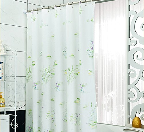 likeyou-72-inch-by-72-inch-eco-friendly-square-shower-curtain-mildew-resistant-and-waterproof-enviro