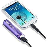 Veho Pebble Smartstick Batterie de secours 2200 mAh pour iPhone/Blackberry/Samsung/HTC/Nokia Violet (Import Royaume Uni)