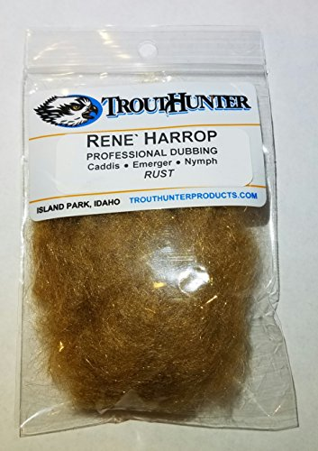 trouthunter Rene Harrop Professional Synchronisation für trockene Fliegen, Rusty Spinner -