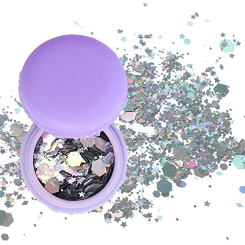 TAOtTAO Flake Chunky Glitter Pots Nail Face Eye Shadow
