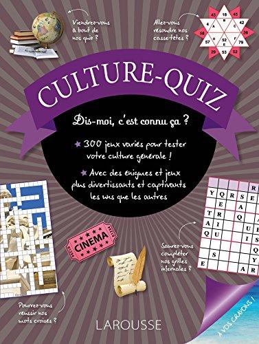 Culture-quiz- Cahier de vacances par Collectif