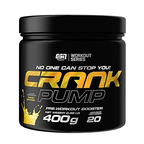 ESN Crank PUMP, Fresh Orange, 400g